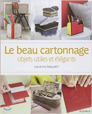 Le beau cartonnage : objets utiles et elegants