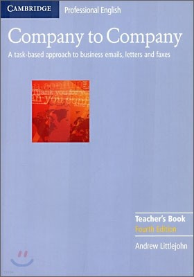 Company to Company Teacher's Book