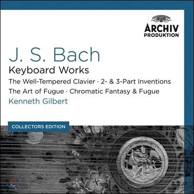 Kenneth Gilbert 바흐: 건반 작품집 (Bach: Keyboard Works)