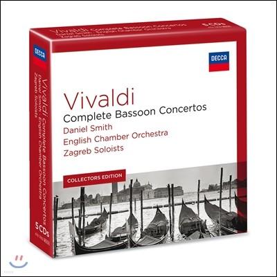 Daniel Smith 비발디: 바순 협주곡 전곡집 (Vivaldi: Complete Bassoon Concertos)