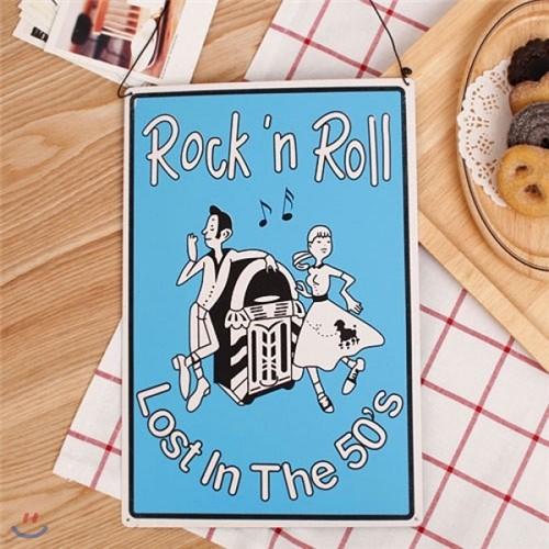 [2HOT] ROCKn ROLL 틴 사인보드