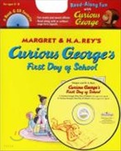 Curious George's First Day of School (Book+CD)