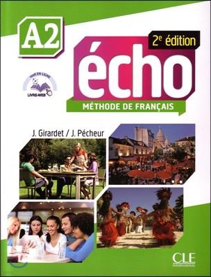 Echo A2. Livre de l'eleve