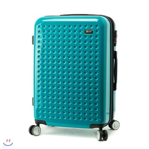 [EDDAS]에다스 EP-304 25형 에메랄드그린 수화물용 캐리어 여행가방/여행용캐리어