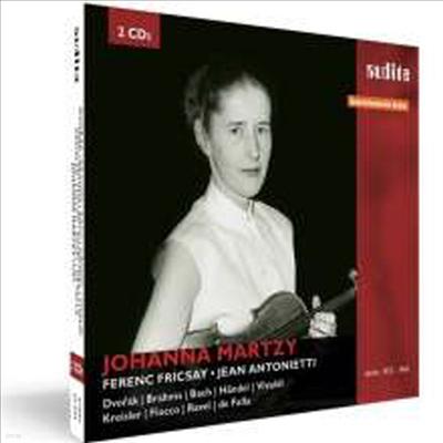 요한나 마르치의 초상 (Johanna Martzy - Portrait) (2CD)(Digipack) - Johanna Martzy