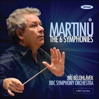 Jiri Belohlavek 마르티누: 교향곡 전집 1-6번 (Martinu: Symphonies Nos.1-6)