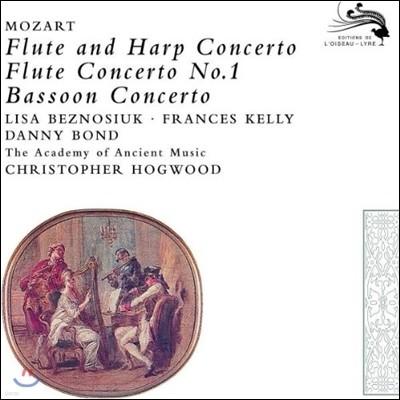 Christopher Hogwood 모차르트: 플룻과 하프 협주곡, 바순 협주곡 (Mozart: Flute and Harp Concerto, Bassoon Concerto)