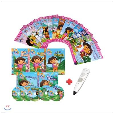 도라 리더스북 14종 세트(BOOK+CD)+세이펜 800S(16G)+DVD도라 2집 5종세트