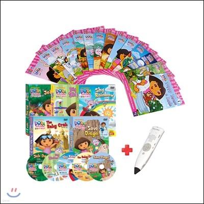도라 리더스북 14종 세트(BOOK+CD)+세이펜 800S(16G)+DVD도라 3집 5종세트
