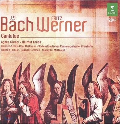 Fritz Werner 바흐: 칸타타 (Bach: Cantatas)