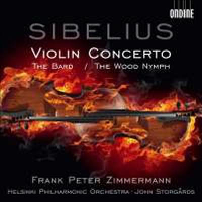시벨리우스 : 바이올린협주곡, 방랑시인, 숲의 요정 (Sibelius : Violin Concerto in D minor, Op. 47)(CD) - Frank Peter Zimmermann