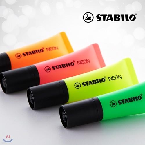 [STABILO] 스타빌로 네온 NEON 형광펜