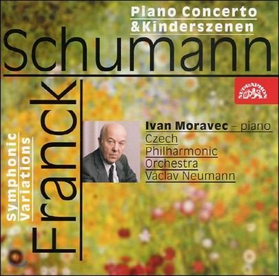Ivan Moravec 슈만: 피아노 협주곡, 어린이의 정경 / 프랑크: 교향적 변주곡 (Schumann: Piano Concerto In A Minor, Kinderszenen / Franck. C: Symphonic Variations For Piano and Orchestra, M46)