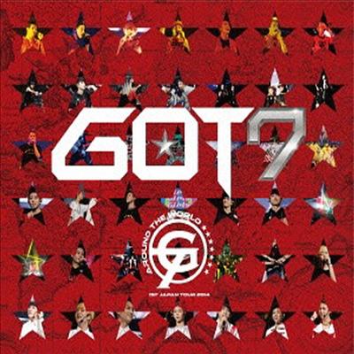 갓세븐 (GOT7) - 1st Japan Tour 2014 'Around The World' In Makuhari Messe (초회한정반) (지역코드2)(DVD)