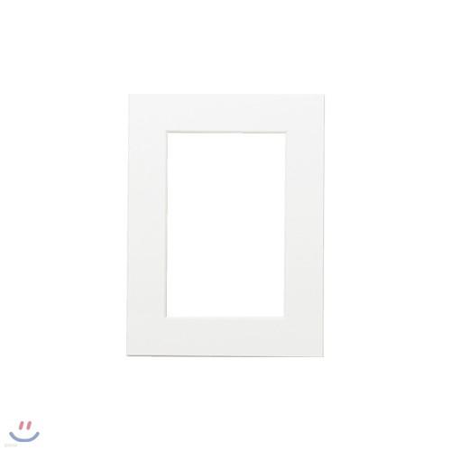 포토프레임 매트지 6x8 6R (홀 4x6) - 사진 액자 여백 종이