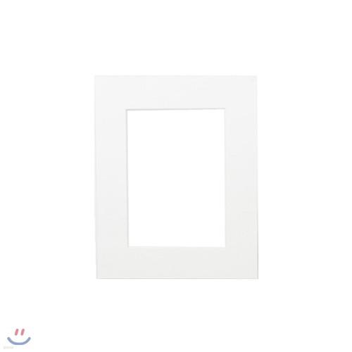 포토프레임 매트지 8x10 8R (홀 5x7) - 사진 액자 여백 종이
