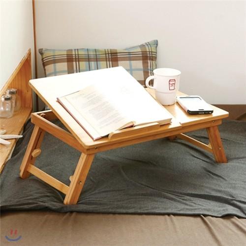 [비스비바] 대나무 노트북 테이블