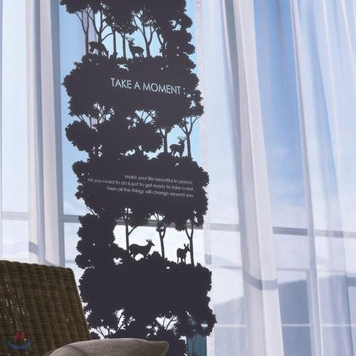 패브릭아트_사슴숲(소)