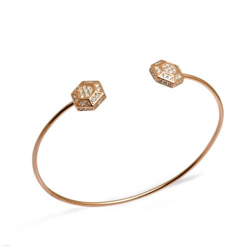Starry hexagon cuffs