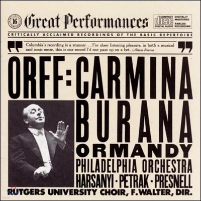 Eugene Ormandy 오르프: 카르미나 부라나 (Orff: Carmina Burana)