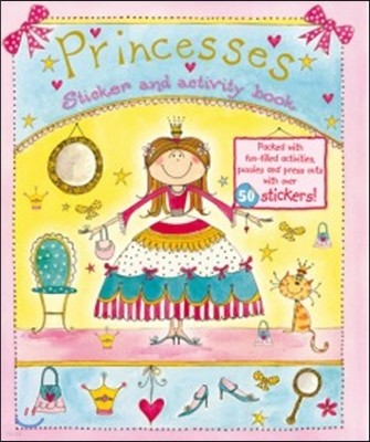 Princesses : Sticker and activity book