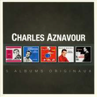 Charles Aznavour - Original Album Series (5CD Boxset)