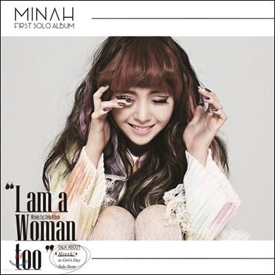 민아 (걸스데이) - 미니앨범 : I Am A Woman Too [스마트 뮤직 카드]