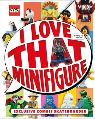 Lego : I Love That Minifigure (레고 미니 피규어 1개 포함)