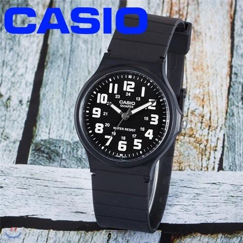 카시오 정품  MQ-71-1B 아날로그시계
