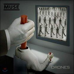Muse - Drones (CD+DVD �� ����Ʈ�� ������) (���� �� �ٹ� ���� 7��)