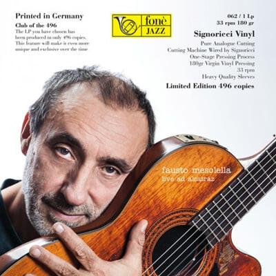 Fausto Mesolella 피아졸라: 리베르탱고 / 뉴턴: 어메이징 그레이스 - 파우스토 메소렐라 기타 연주집 [LP]