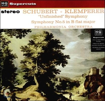 Otto Klemperer 슈베르트: 교향곡 5번, 8번 (Schubert: Symphony Nos.5, 8)
