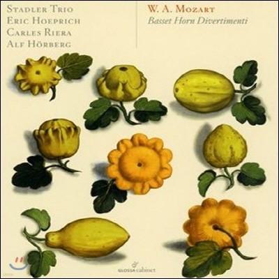 Trio Stadler 모차르트: 바셋 호른을 위한 디베르티멘토 (Mozart: Basset Horn Divertimenti)