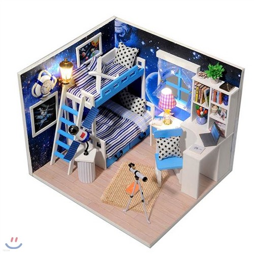 [adico] DIY미니어처 하우스 - 우주여행