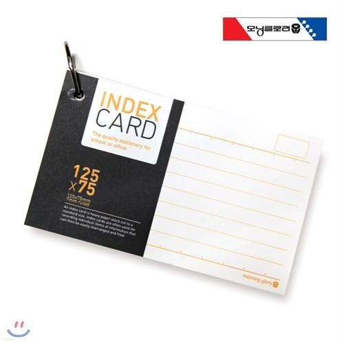 [알앤비]모닝글로리 1500 정보카드 125x75/단어장/메모카드/morning glory