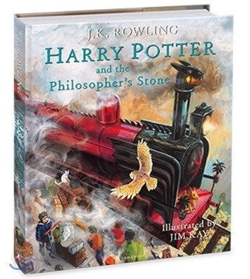 Harry Potter and the Philosopher's Stone : Illustrated Edition (영국판)