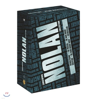 크리스토퍼 놀란 컬렉션 DVD 10Disc BOX (6Title 포함, 한정판)