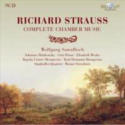 Wolfgang Sawallisch 슈트라우스: 실내악 전곡집 (R. Strauss : Complete Chamber Music)