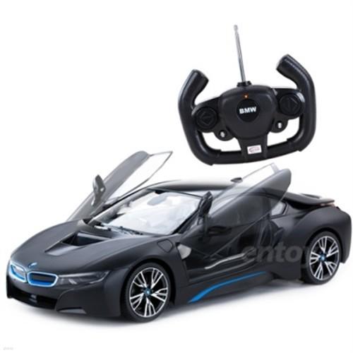 [라스타 RC카] 1:14 BMW i8 (Open Door)-블랙