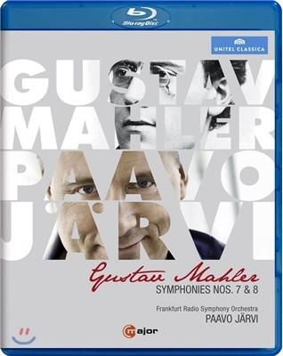 Paavo Jarvi 말러: 교향곡 7번 8번 (Mahler: Symphony Nos. 7 & 8) 블루레이