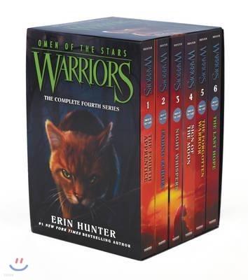 Warriors Box Set : Omen of the Stars #1-6
