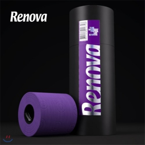 [Renova] 레노바 3roll Gift Pack - Purple