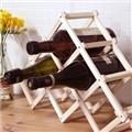 접이식 우드 와인 거치대 -6홀 와인랙 [0162761429]