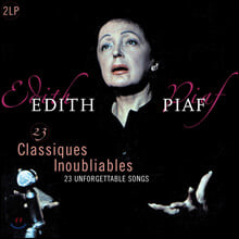 에디트 피아프 베스트 모음집 (Edith Piaf - 23 Unforgettable Classics) [2 LP]