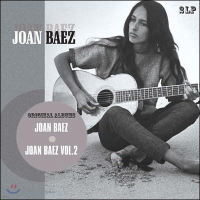 Joan Baez (조안 바에즈) Gold Albums - Vol.1 & 2 [2 LP]