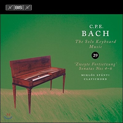 Miklos Spanyi 칼 필립 엠마누엘 바흐: 솔로 키보드 음악 29집 (C.P.E. Bach: The Solo Keyboard Music)