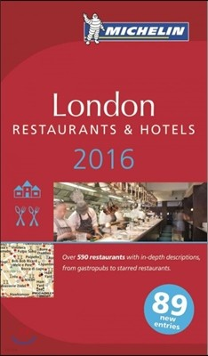 Michelin 2016 London Restaurants & Hotels