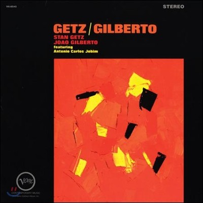 Stan Getz & Joao Gilberto - Getz / Gilberto (스탄 게츠 & 조앙 질베르토) [2 LP]