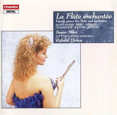 Susan Milan '마술피리' 프랑스 플루트 협주곡집 - 생상스 / 이베르 / 졸리베 (La Flute Enchantee - Saint-Saens / Ibert / Jolivet)