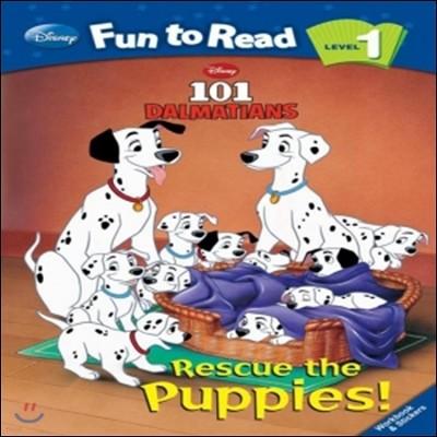 Disney Fun to Read 1-12 Rescue the Puppies!